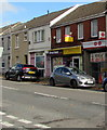 SS6696 : Slee Stores and post office, Neath Road, Plasmarl, Swansea by Jaggery