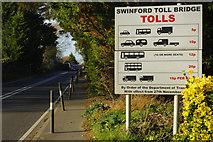 SP4408 : Swinford Bridge Tolls by Stephen McKay