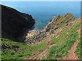 SX6639 : Redrot Cove by Hugh Venables