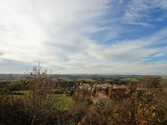 Autumn view over Blackhill