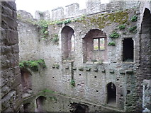 SO5074 : Inside Ludlow Castle (North-East Tower) by Fabian Musto
