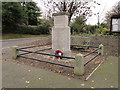 TF8037 : Stanhoe War Memorial for both wars by Adrian S Pye