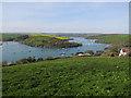 SX7438 : View over Kingsbridge Estuary by Hugh Venables