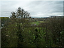 SO5074 : View from Ludlow Castle (Garderobe Tower) by Fabian Musto