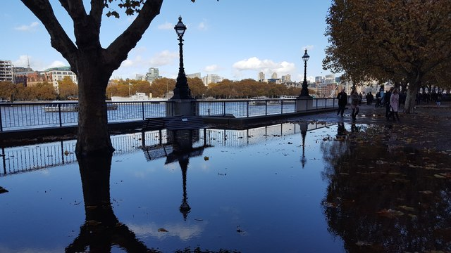 South Bank after the Rain