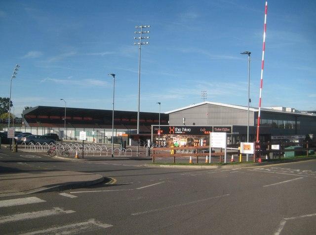 Edgware: The Hive Stadium, Barnet FC