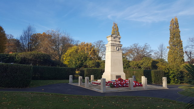 Enfield War Memorial, Chase Green
