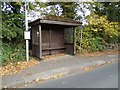 TL8925 : Bus Shelter on Chappel Road by Adrian Cable