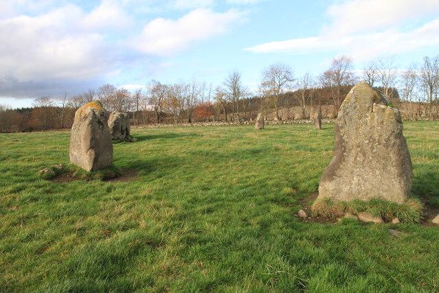 Stone Circle at Rothiemay