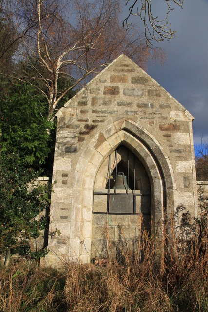 Old Church Doorway and Bell
