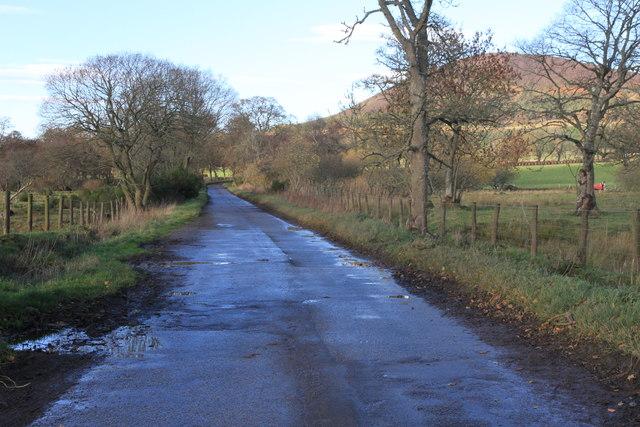 Minor road near Knock