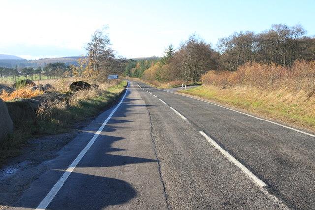 A95 near Knock