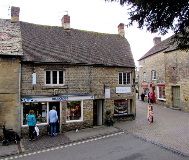 Blue Cross charity shop, Stow-on-the-Wold