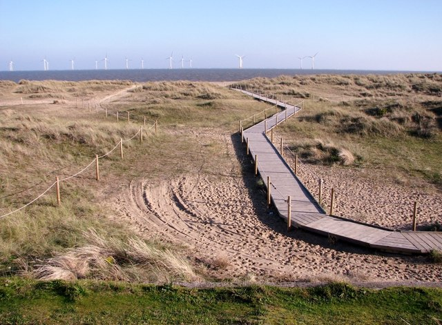 Walkway to North Beach