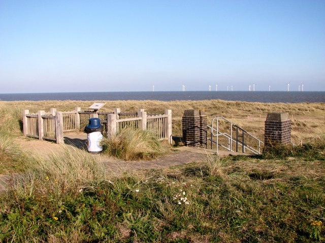 Information board beside the path to Caister-on-Sea