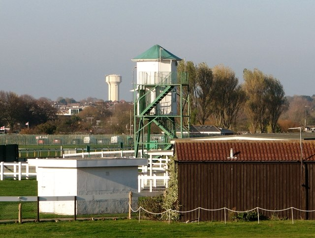 Tower on the Great Yarmouth racecourse