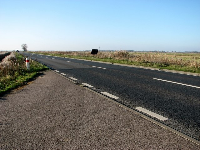 This way to Acle on the Acle Straight