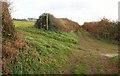 SX7643 : Path crossroads above East Charleton by Derek Harper