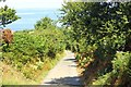 SH3646 : The Wales Coast Path approaching Trefor by Jeff Buck