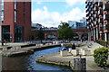 SE2933 : Granary Wharf Graving Docks by Mat Fascione
