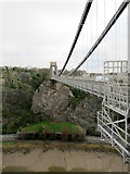 ST5673 : Clifton Suspension Bridge Looking Towards Clifton by Roy Hughes