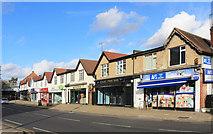 TQ1289 : Shops on Marsh Road, Pinner by Des Blenkinsopp
