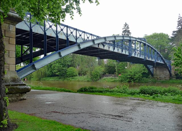 Kingsland Bridge, Shrewsbury