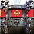 TF6119 : King's Lynn Minster: Black Prince misericord by John Sutton