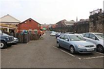 SD8010 : Bury Bolton Street Station car park by Chris Allen
