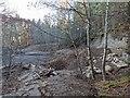 NH6343 : Old Borrow Pit by valenta