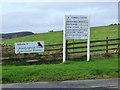 NS4067 : Elderslie Estates signs by Thomas Nugent