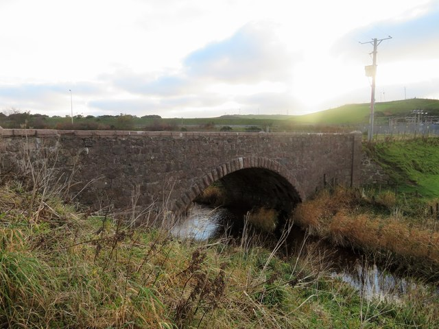 Old Bridge at Bridgend