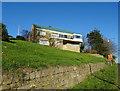 SE1112 : House on Church Road, Crosland by JThomas