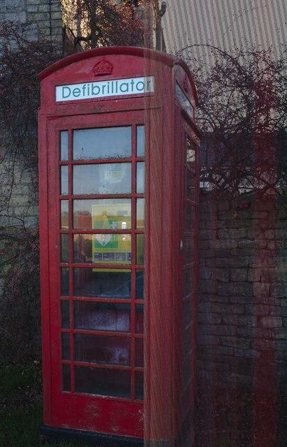 Former telephone kiosk