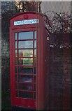 SK8925 : Former telephone kiosk by Bob Harvey