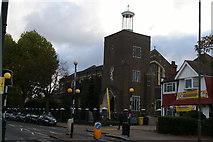 TQ2487 : Former parish church of St Michael, Golders Green by Christopher Hilton