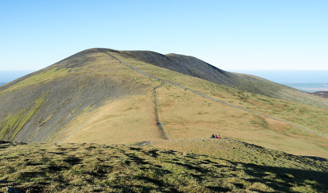 Northern slope of Skiddaw Little Man