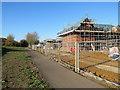 TF6220 : King's Lynn: new houses off Greenpark Avenue by John Sutton