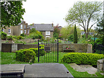 TQ2976 : Garden of Remembrance, St. Paul's churchyard by Robin Webster