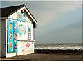 SX8961 : Preston Beach Kiosk, Preston Green by Derek Harper