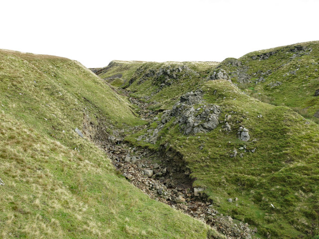 The cleugh of Darn Gill (3)