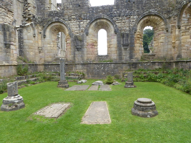 The Chapter House, Fountains Abbey