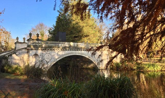 Classic Bridge, Chiswick House gardens