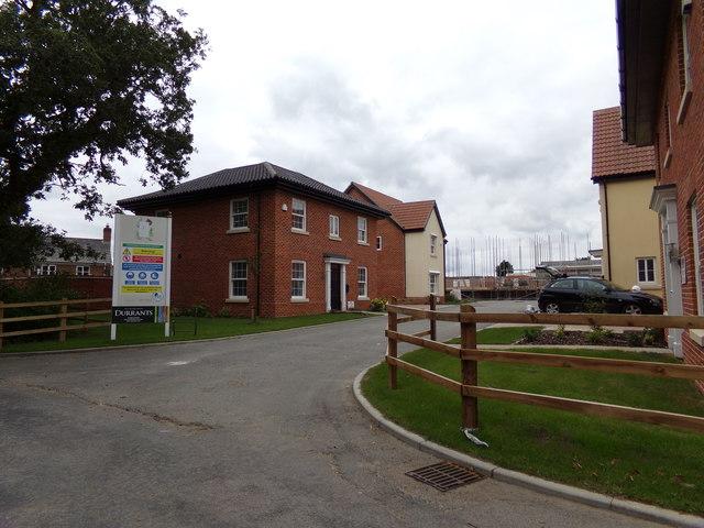 Entrance to Heritage Developments Building site