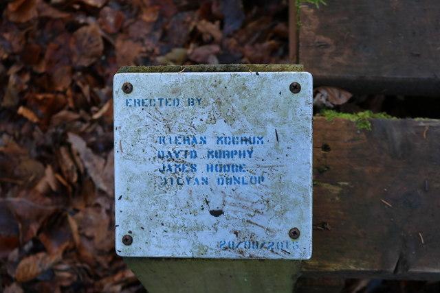 Woodland Walkway Erected by