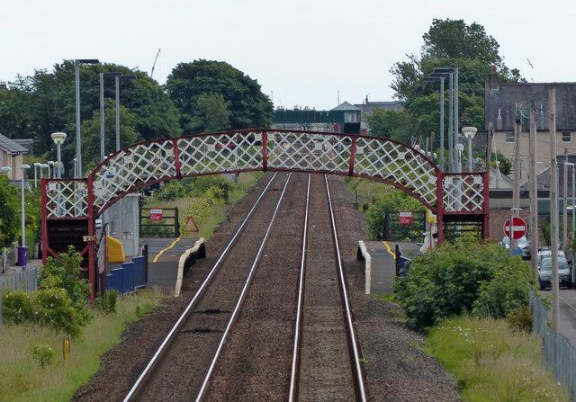 Golf Street railway station at Carnoustie
