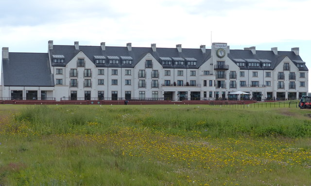 Clubhouse at Carnoustie Golf Links