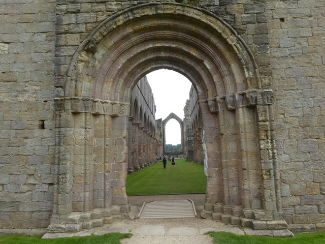 The Nave of Fountains Abbey
