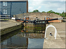 SK5815 : Mountsorrel Lock in Leicestershire by Roger  Kidd