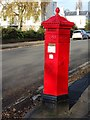 SO9321 : Victorian pillar box by Philip Halling